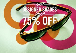Shop NEW: Designer Shades up to 75% Off