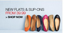 Shop Flats and Slip-ons, from 39.99