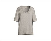Exclusive Heather Grey Trisha Top