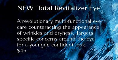 NEW Total Revitalizer Eye | $45