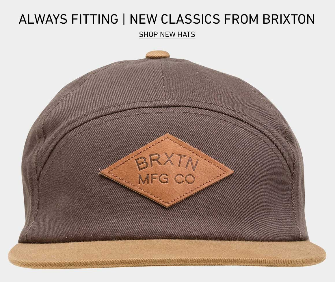 Always Fitting: New Hats from Brixton