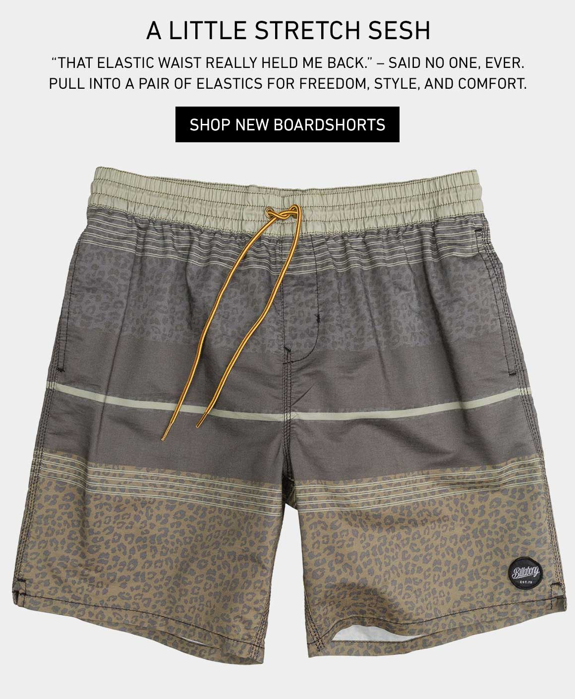 Stretch Your Sesh: Shop New Boarshorts