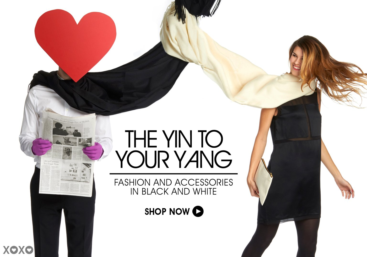 The Yin To Your Yang. Shop Fashion & Accessories in Black & White