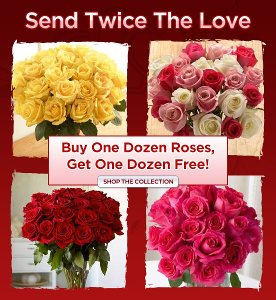Valentine's Day Rose BOGO
