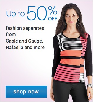 40-60% off woemn's fashions. Shop now.