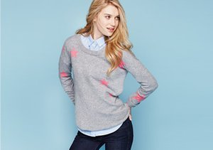 Grey Area: Sweaters, Jeans & More