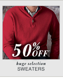 50% Off* - Sweaters
