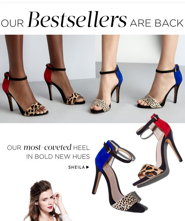 Our Bestsellers Are Back. Shop Sheila