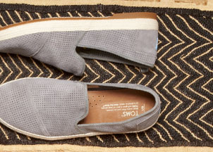 Light Grey Suede Men's Freetown Sabados