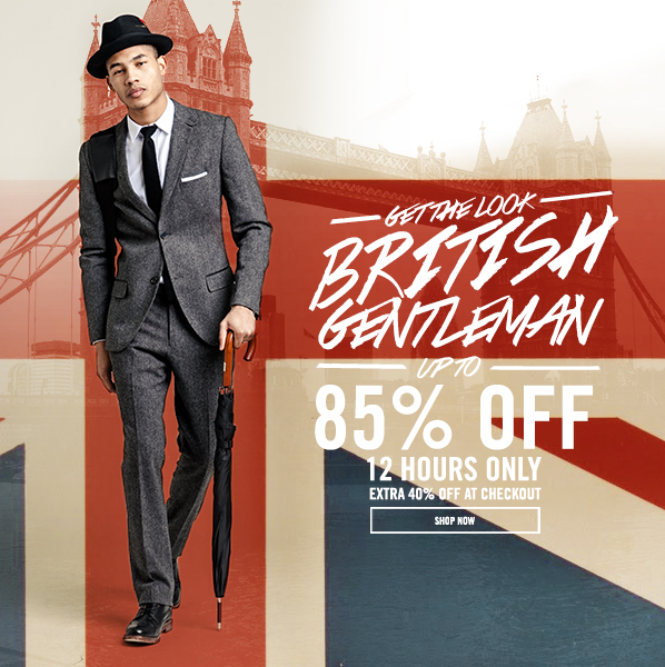 Shop Get the Look: British Gentleman