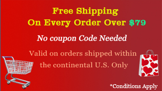 Free shipping on every order over $79