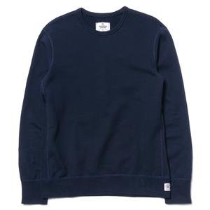 Reigning Champ Midweight Twill Terry Core Crewneck Navy