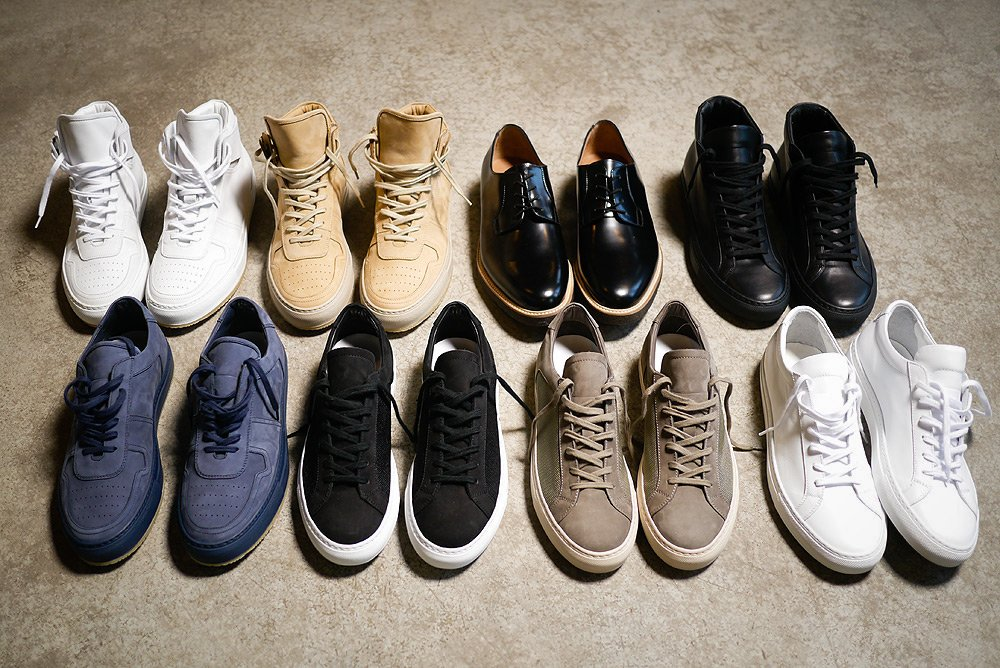 Common Projects Spring/Summer Footwear
