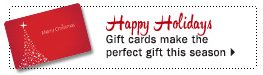 Easy to give and love - Gift cards make the perfect, any-occasion choice. Show now