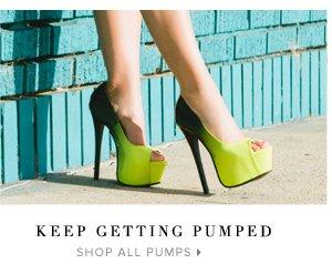 Shop All Pumps: