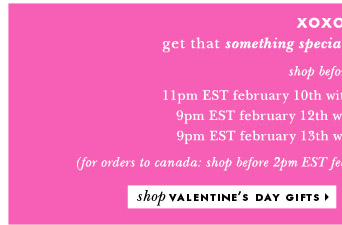 shop valentines day gifts.