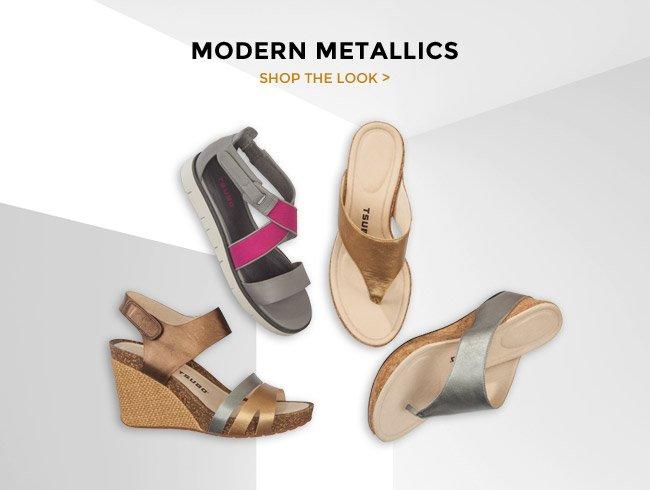 MODERN METALLICS - SHOP NOW >