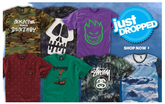 Just Dropped: T-Shirts