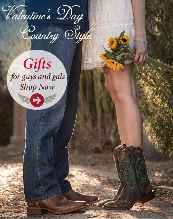 Valentine's day Country Style - Gifts For Guys And Gals!