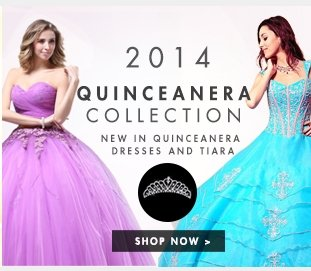2014 quinceanera collection Shop now