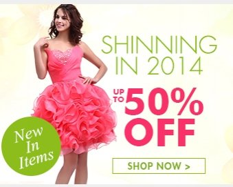 Shinning in 2014 up to 50% off Shop now