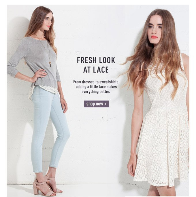 Fresh Look at Lace - Shop Now