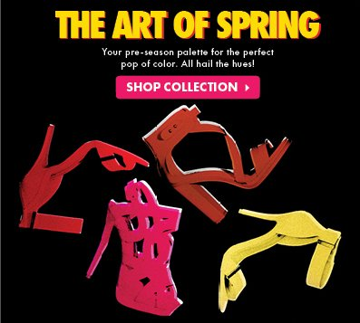 The Art Of Spring - Shop Collection!