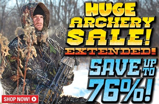Sportsman's Guide's Huge Archery Sale! Save Up To 76%!