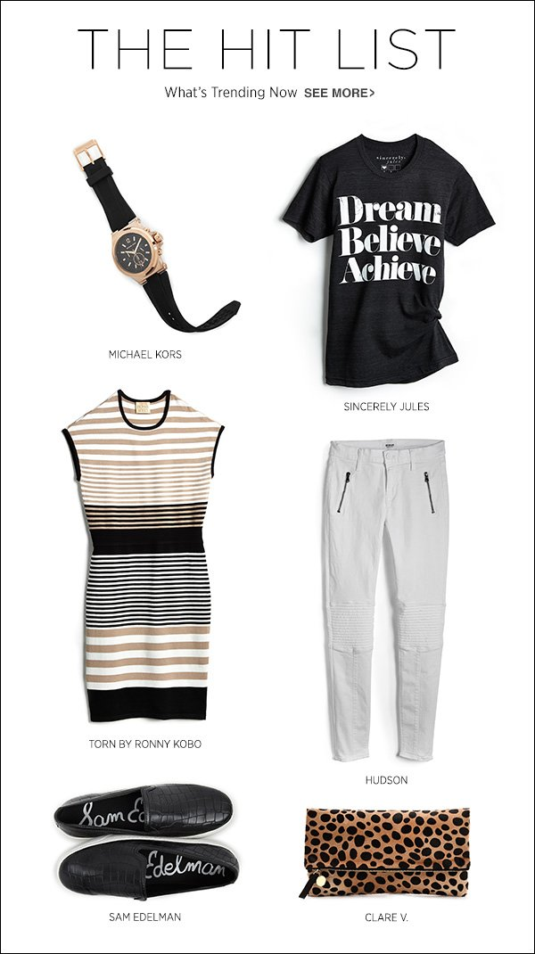 See what fellow fashion types are snapping up now in our Top Sellers edit.  >>