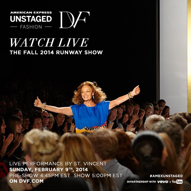 Watch Live: The Fall 2014 Runway Show