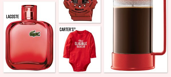 This Valentine's Day, we'll have you seeing RED. Discover crush-worthy accessories, handbags, sleepwear and more - all in our favorite hue