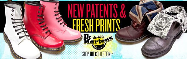 Shop New Dr. Martens at Journeys Now!
