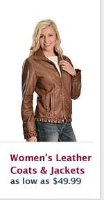 Womens Leather Coats and Jackets