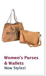 Womens Purses and Wallets