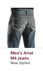 All Mens Ariat M4 Jeans on Sale
