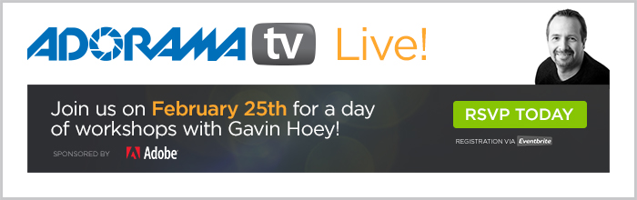 Adorama - A Day Of Workshops With Gavin Hoey