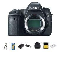 Canon EOS-6D Digital SLR Camera Body, 20.2 Megapixel - Bundle