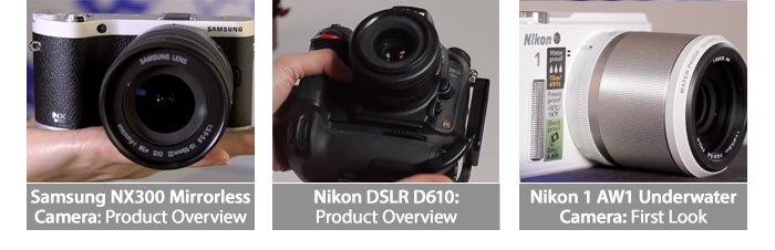 New Camera Header