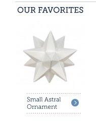 Small Astral Ornament