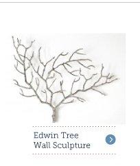 Edwin Tree Wall Sculpture