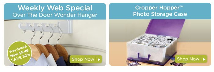 Weekly Web Special & Cropper Hopper