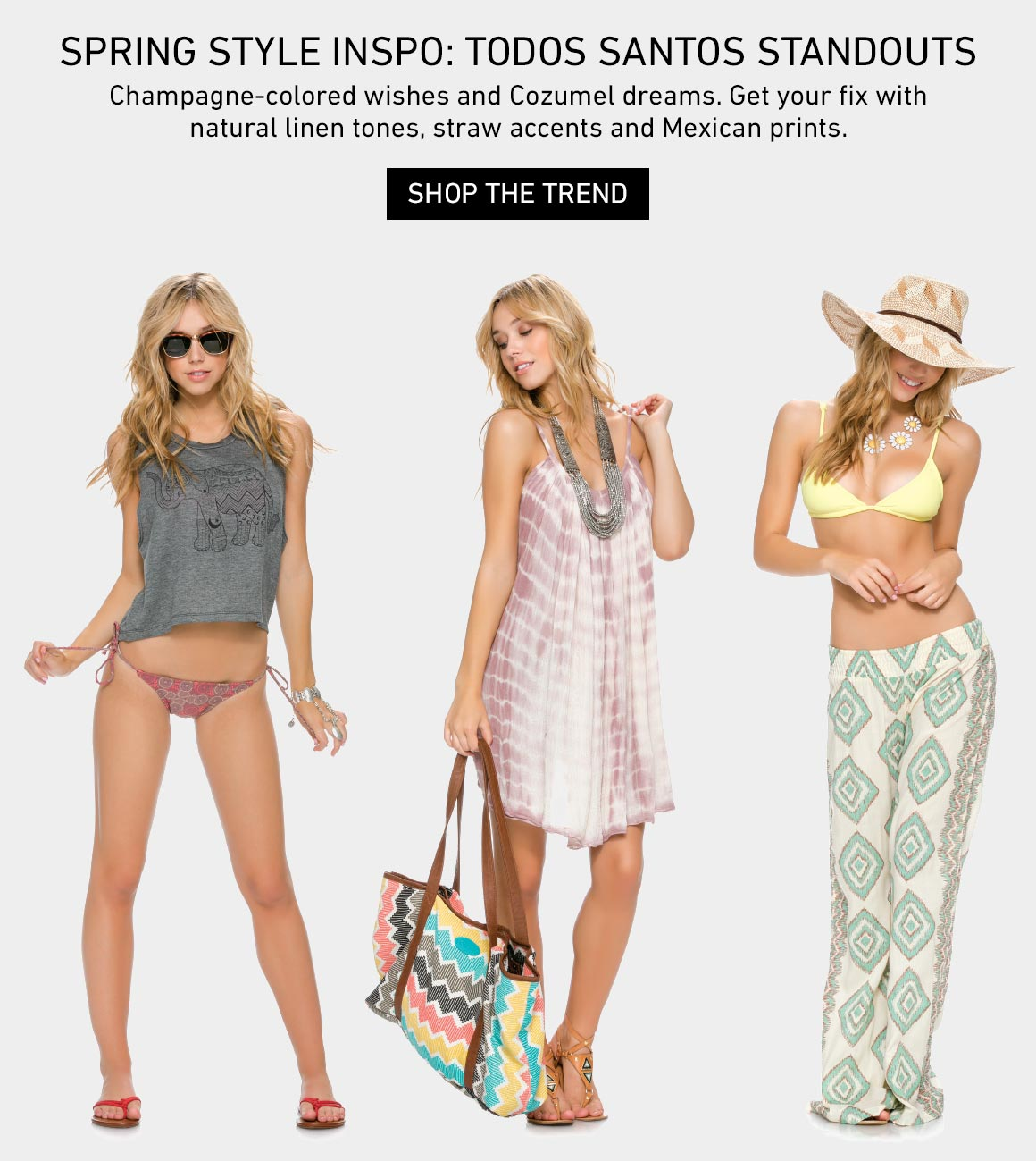 Todos Santos Standous: Shop The New Spring Trend