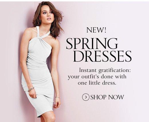 New! Spring Dresses