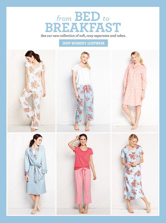 From Bed to Breakfast - Women's Sleepwear
