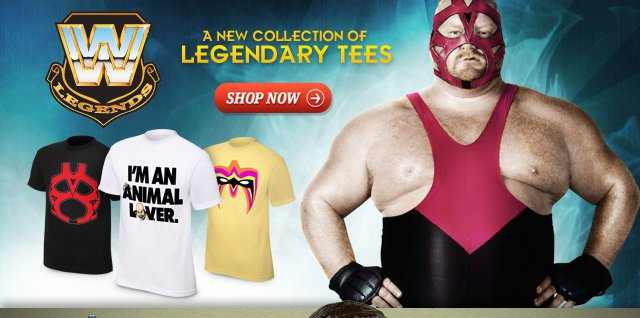 New: Old School T-shirts – Bam Bam Bigelow, Vader, and more!