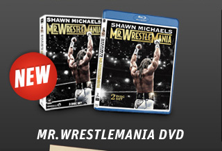 New: Shawn Michaels Mr. WrestleMania DVD & Blu-ray