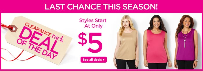Styles start at only $5