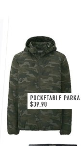 POCKETABLE PARKA