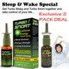 Sleep & Wake Natural Wellness Pack - Turbo Nasal Sprays