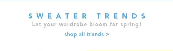 Shop Sweater Trends